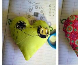 Stuffed Electronic Heart
