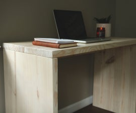 Simple Modern Writing Desk