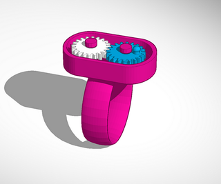 Gearing Up in TinkerCad