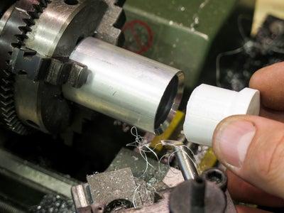 Cutting the Aluminium Tubes