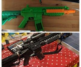 Toy Assault Rifle Mod
