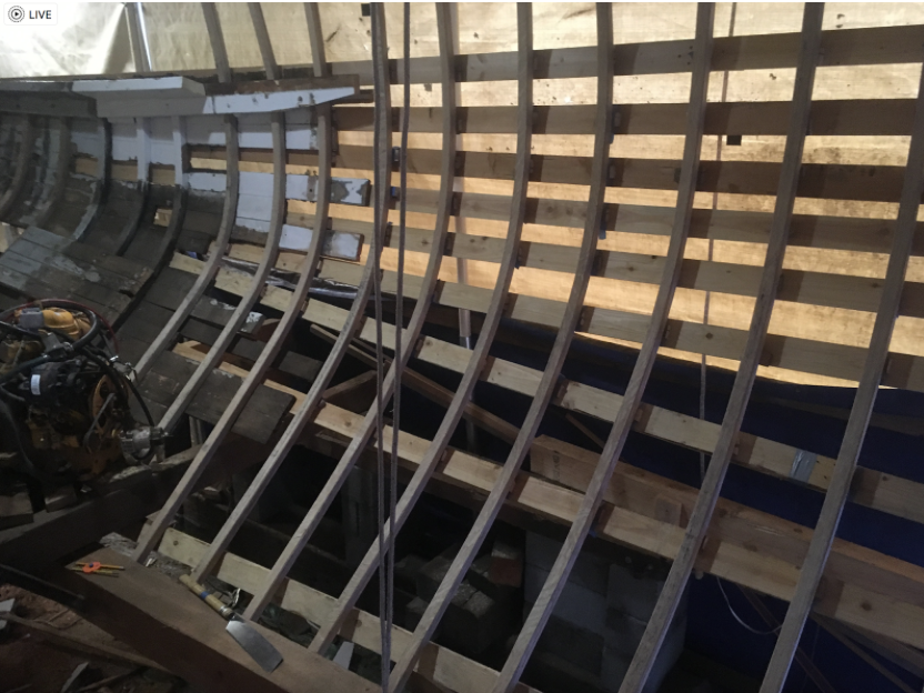 Picture of Framing a Wooden Boat