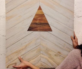 Inlays : Shapes in Wooden Art Hangings