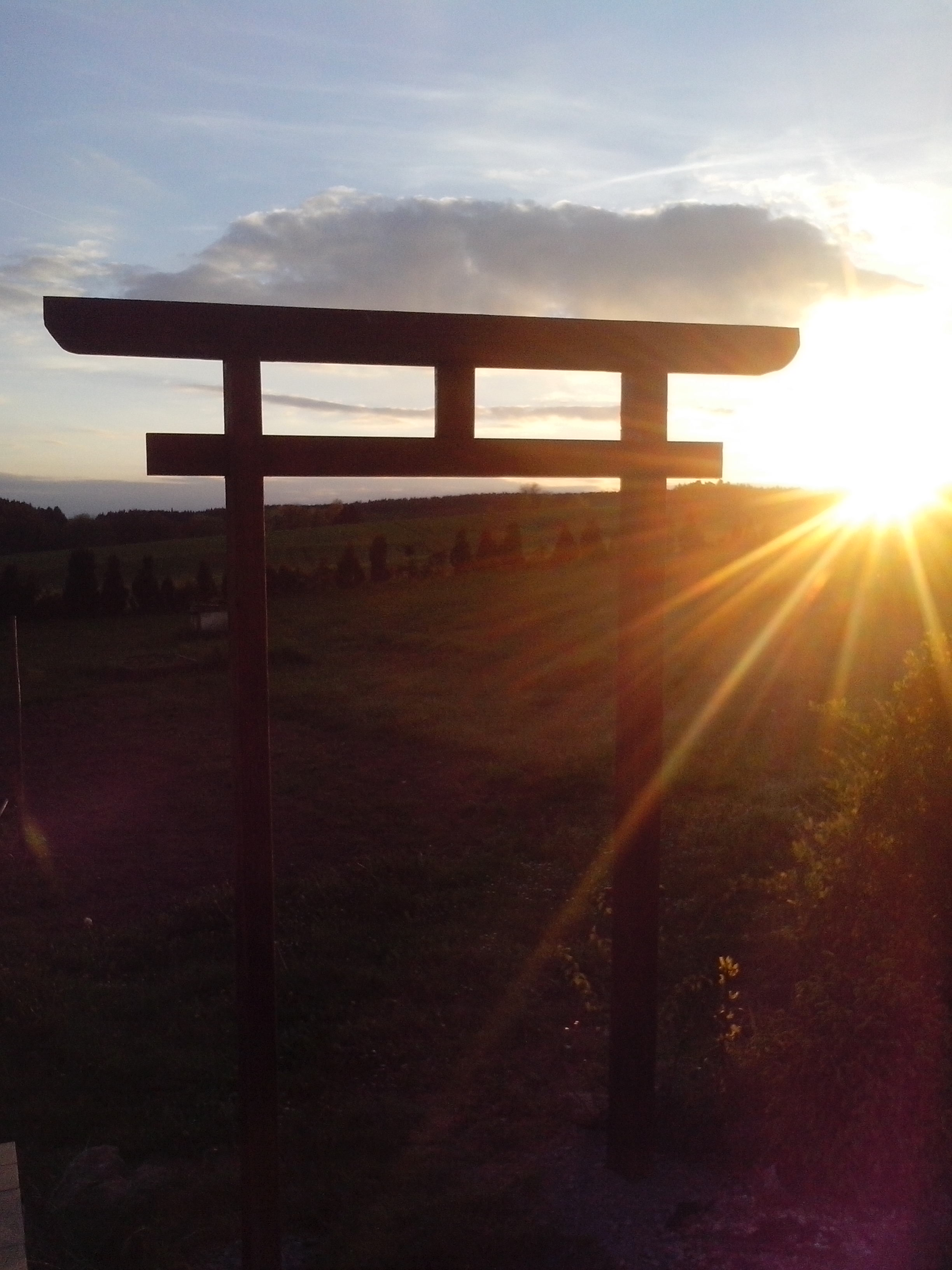 Picture of Time to Install My Torii Gate :)