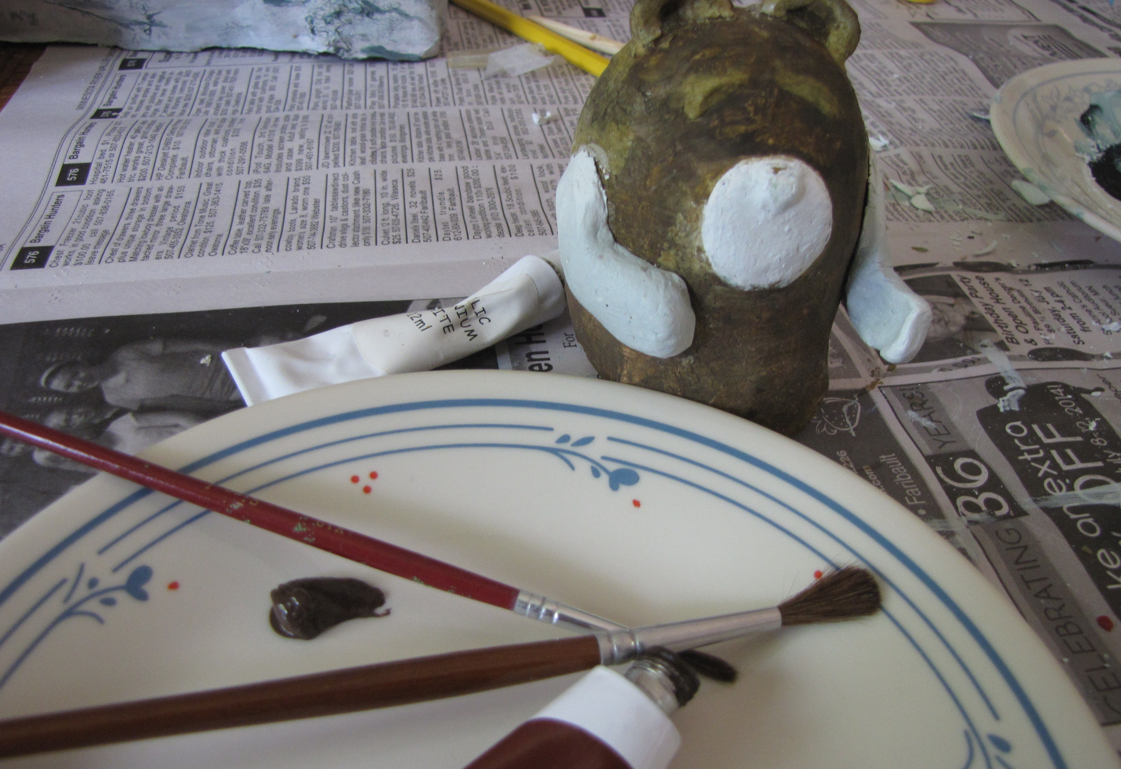 Picture of Making the Bear ~ Finishing Touches