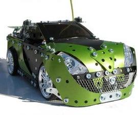 Meccano sports car.