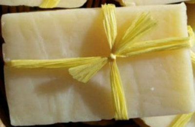Picture of Try Out Your New Lemon Soap Bar!