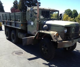 How change the oil on a Deuce and a HALF ( M35 Cargo truck)