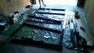 Picture of Assembling the Flatbed