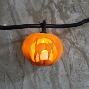 What to Do With a 3d Printed Jack O' Lantern (updated)