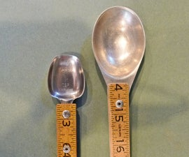 Real Measuring Spoons