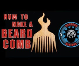 Make your own wood comb!