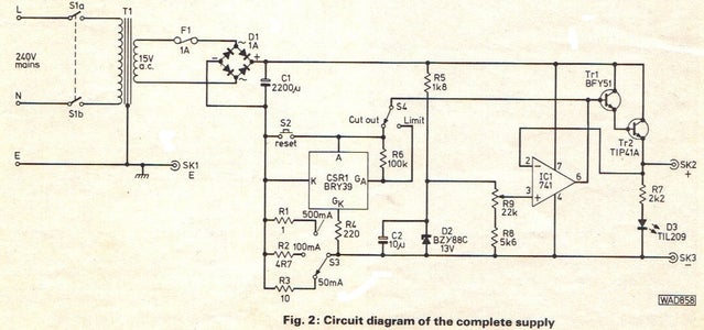 Component List, Circuit Diagram, PCB Layout & Wiring Diagram