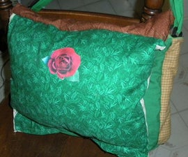 Making your own messenger style school bag