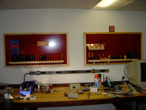 Magnetic Tool Rack