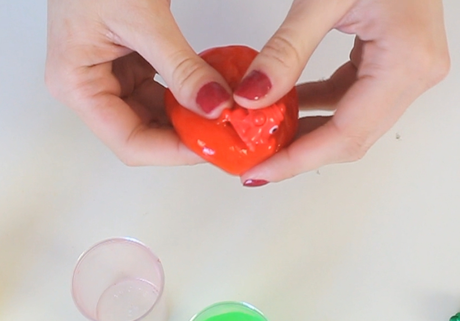 Picture of I Discovered Surprise Toys Whelpling in These Cool Oozing Slime Filled Test Tubes.