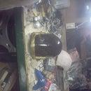 Daft Punk Helmet (Guy Manuel: In progress)