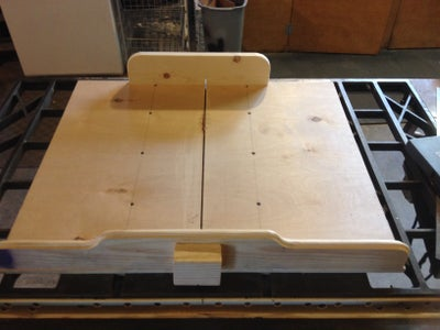 Crosscut Sled for Your Table Saw