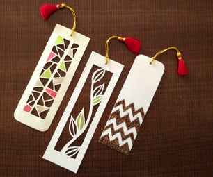 How to Make Bookmarks   Paper Cutting Art