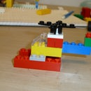 How to Create a Helicopter from LEGO