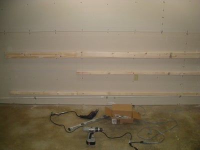 Affix Cleats to Wall