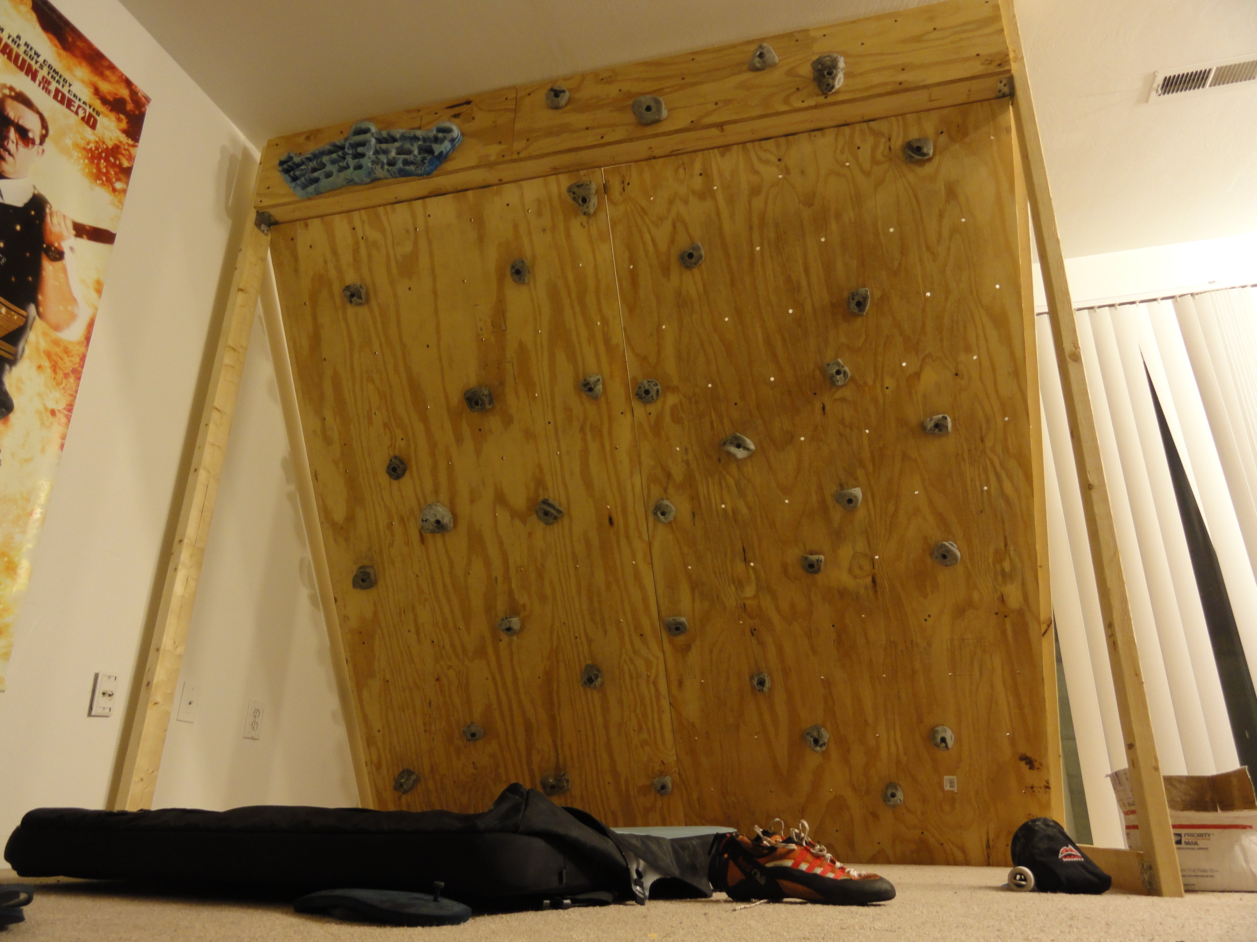 home wall of.htm freestanding indoor rock climbing wall for  150 7 steps  with  freestanding indoor rock climbing wall