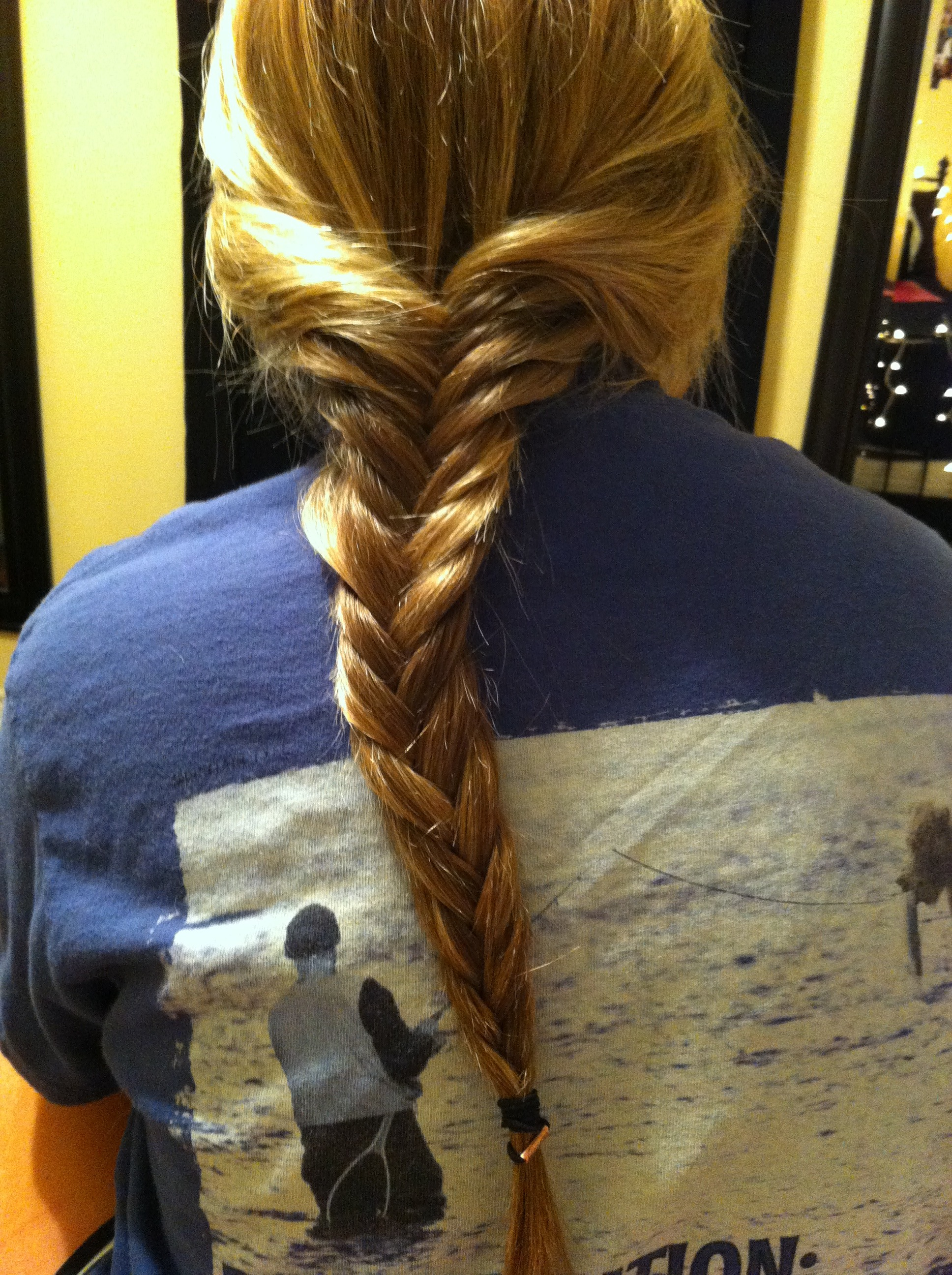 Picture of How to Fishtail Braid