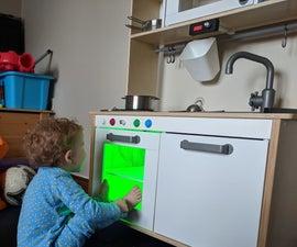 Ikea Kids Kitchen Lights Mod