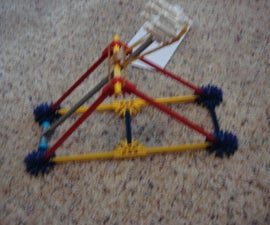 Small Knex Catapult