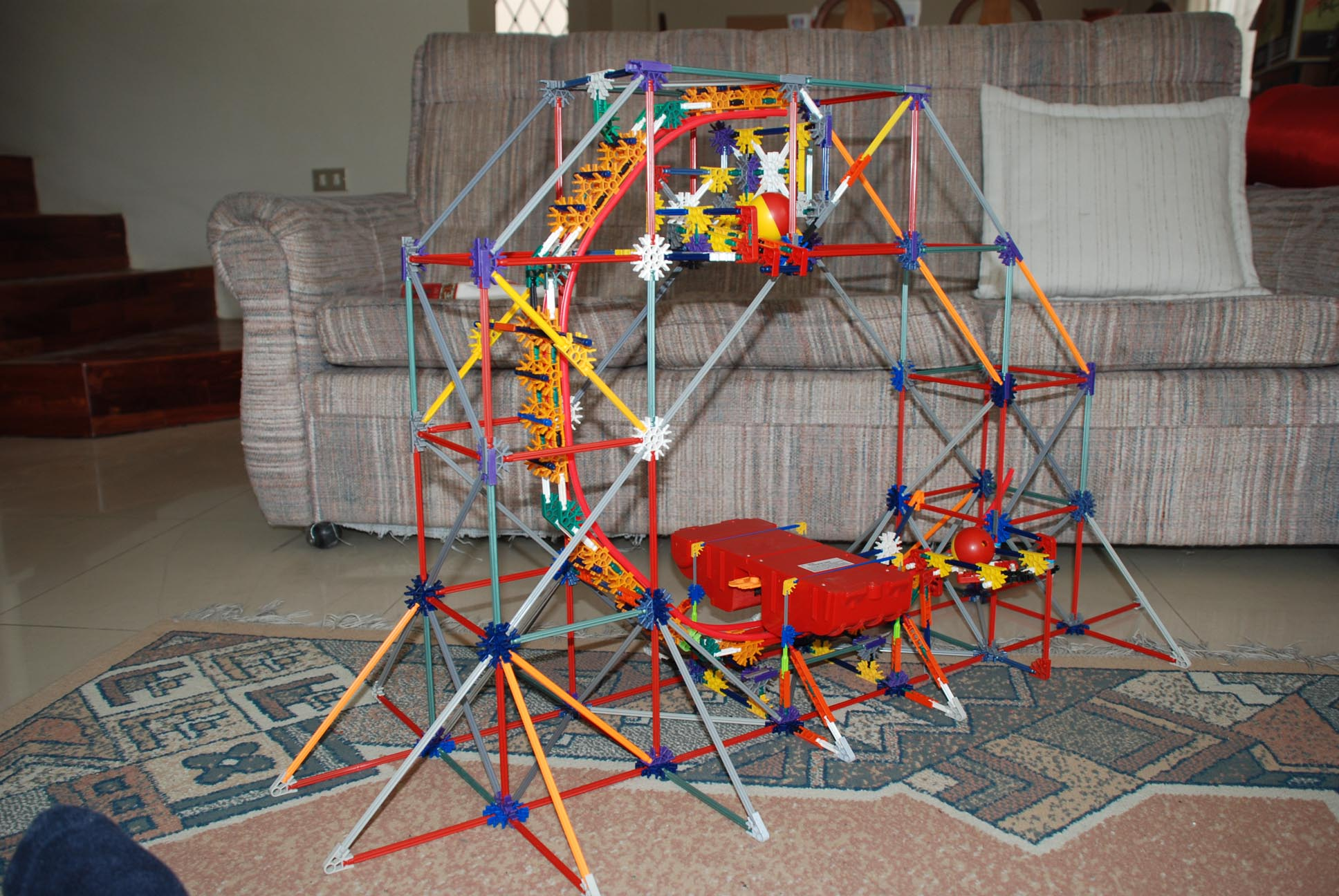 Picture of K'nex Micro Ball Launcher Lift