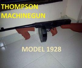 Thompson Machinegun (Tommy Gun) for Atrezzo