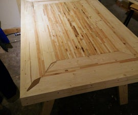 Kitchen Table (2x4 & Recycled Pallets)