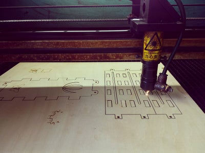 Cut the Wooden Board