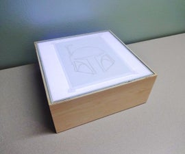 How to make an LED light box