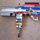 The D3.1 Lego Semi-Automatic Handgun Mod