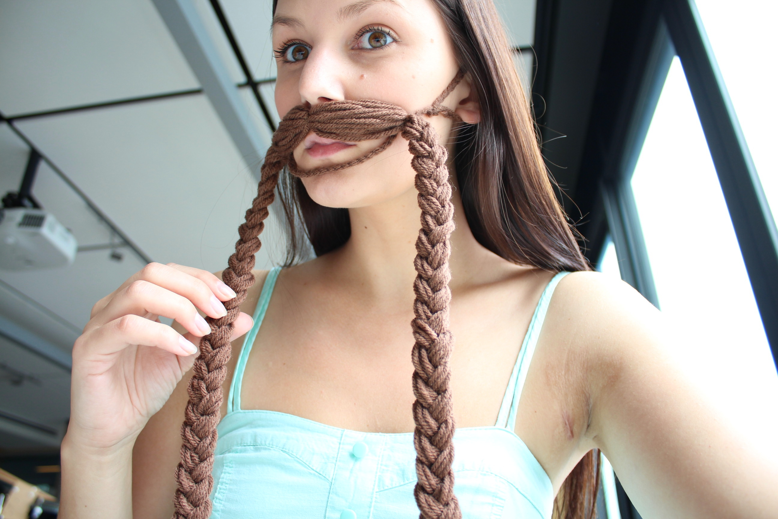 Picture of Braid the Moustache Ends