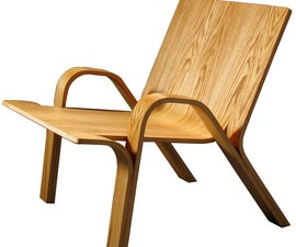 Ramified Armchair - bending plywood