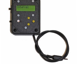 Intervalometer for Canon and Nikon cameras