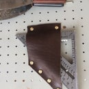 Leather Pegboard Tool Holster