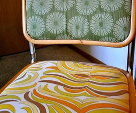 How to Re-upholster Chairs Using a Staple Gun