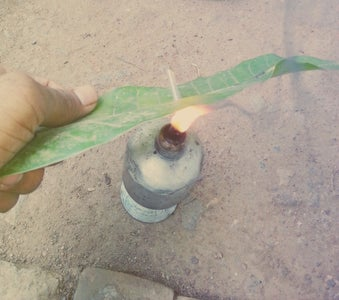 Diy Home Made Rocket With Using Old Bulb