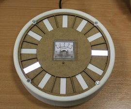 Arduino LED Backlight Clock With Pulsing Minute Hand