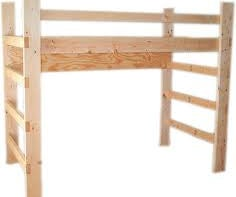 How to Build a Lofted College Bed