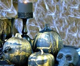 Marbled Halloween Decor
