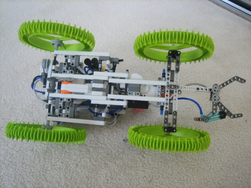 Picture of LEGO Mindstorms NXT: Roadster PSP-NX Supercharged
