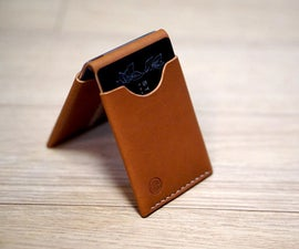 How to Make a Bi-Fold Leather Wallet