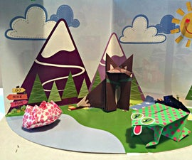 Let's Go Camping! Interactive Diorama