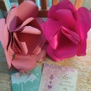 Large Paper Rose