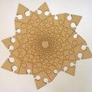 Fibonacci Spiral Jigsaw puzzle