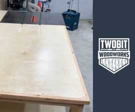 Modular Outfeed Table   How to Build - Woodworking